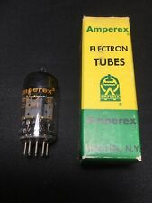 AMPEREX (Mullard) 12AT7 ECC81 Preamp VACUUM TUBE Great Britain TESTED #8.7281