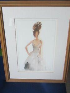 Cindella a print from the work of  French Fashion artist Anne Cluzel