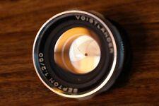 Voigtlander Septon 50mm f/2 (50 f2) DKL Bessamatic Ulramatic. Kodak