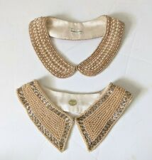 New listing Vintage Beaded Peter Pan Collar Lot Made In Japan Truly Royal Art Craft