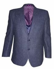 Abrigos y chaquetas de hombre azules, 100% lana, Talla 50