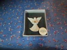 Beautiful Lenox Angel Holding Star Pin Brooch About 1 3/4 Inch High