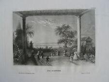 Der Bodensee Stahlstich 1850