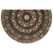 Mosaic Mythos Slice Door Mat - Recycled Rubber, 23x35