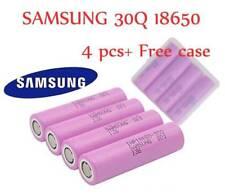 4Packs Samsung 30Q 18650 HIGH DRAIN 3000mAh 15A Rechargeable Vape Battery SMOK