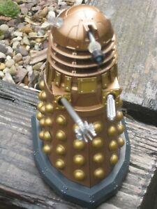 Gold Dalek Dr Who Figure