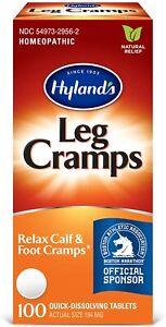 Hyland's Leg Cramps - 100 Quick-Dissolving Tablets - Leg & Foot Pain Relief