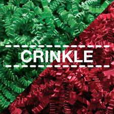 LUXURY Shredded Coloured CRINKLE KRAFT Paper   ZigZag Gift Hamper Filler Shred