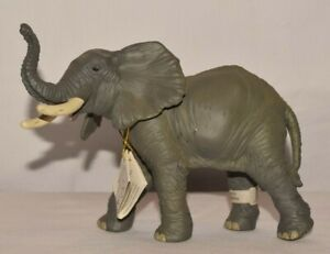 """NWT 2006 6.5"""" Long 4.25"""" Tall  PAPO Elephant Hard Plastic / Rubber NOS"""