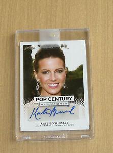 2013 Leaf Pop Century autograph auto Kate Beckinsale beautiful