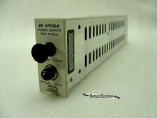 GENTLY USED HP/AGILENT 81536A POWER SENSOR 800-1700nm - GOOD CONDITION