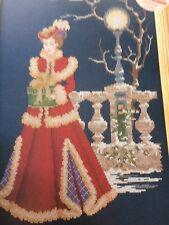 Victorian Christmas Lady Cross Stitch Chart
