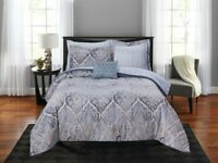 Comforter set For Girls Teens Women- Full size Bedding Set- Bed in a bag