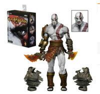 """NECA God of War 3 Ultimate Kratos 7"""" Action Figure 1:12 Game Collection Toy AS"""