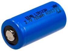 CR123AR- CR123A -LIR17335 Rechargeable 2 pcs