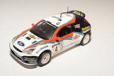 . ALTAYA IXO FORD FOCUS 2002 WRC RALLY WHITE EXCELLENT CONDITION