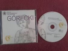 Gorecki -Symphony No 3 Of Sorrowful Songs/3 Pieces In Old Style Susan Gritton CD