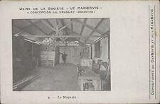 ARGENTINA CONCEPCION DEL URUGUAY LE MAGASIN N°4 USINE DE LA SOCIETE LE CARBOVIS