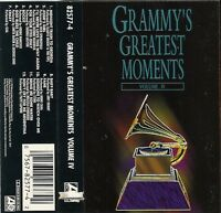 Grammy's Greatest Moments, Vol. 4 by Various Artists (Cassette, 1994, Atlantic)
