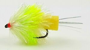 FNF - Barbless - Melon/Hulk - Jelly (Foam Ass Blobs) FABS, Trout Fishing