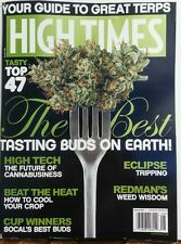 High Times Aug 2017 The Best Tasting Buds on Earth Marijuana FREE SHIPPING sb