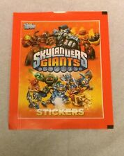 Skylanders Giants Sticker Sealed Pack Topps Europe 2013