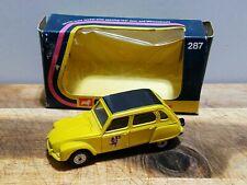 Vintage CORGI 287 CITROEN DYANE DIE CAST TOY BOXED 1974