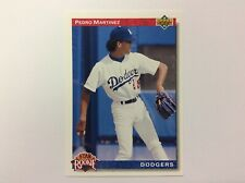 1992 Upper Deck Pedro Martinez Los Angeles Dodgers #18 Baseball Card Star Rookie