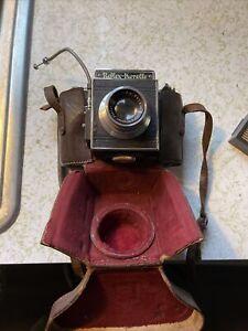 Vintage Reflex Korelle Camera  With Leather Case