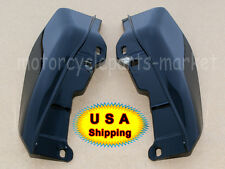 USA Black Mid-Frame Air Deflector Trim Harley Touring Street Glide FLHX 09-16
