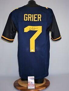 Will Grier Signed Autograph West Virginia Jersey Cowboys JSA WPP424204 WVU
