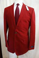NWT Brooks Brothers 1818 Fitzgerald Red Linen / Cotton Blazer 42L MSRP $448