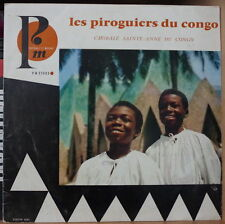 """CHORALE SAINT ANNE DU CONGO LES PIROGUIERS DU CONGO 10"""" 25cm FRENCH LP"""