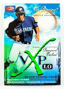 Alex Rodriguez (1997 Donruss) VXP 1.0 CD-ROM Trading Cards