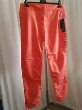 Size uk 12 Orange Cotton Trousers (AV25-7)