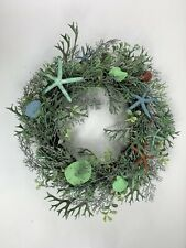 Starfish Wreath Wall/Door Decor~~Real Starfish~~Blues & White~~Beach/Nautical