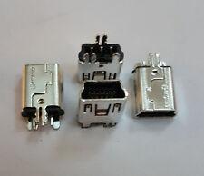 3 X MINI B USB 2.0 Presa Connettore 5 posizioni FORO PASSANTE MPN 1734753-1