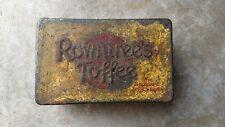 Rowntree's Toffee Vintage Rare Tin Box  Rowntrees York ENGLAND
