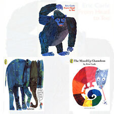 Eric Carle 3 Books Collection Set (From Head to Toe,The Mixed-up Chameleon) New