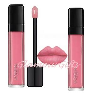 "L'Oreal Paris Infallible Mega Cream Lip Gloss 109 Fight for It ""Pink"""