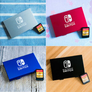 For Nintendo Switch Game Card Case Holder Storage Box Travel Carry Protector