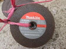 """40  x MAKITA - STEEL CUTTING DISCS - 4"""" 100 mm  x  2-5  THICK  x  16 mm  CENTER"""