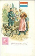 """Niederlande, Die Post, """"La Poste en Hollandie"""", um 1910/20"""