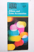 Hoya Filters and Lens Accessory Guide 7901E-2 - English - USED B35 VG