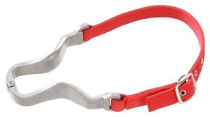 Tough 1 nylon/aluminum red cribbing strap horse tack equine 52-2086