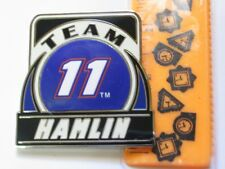Denny Hamlin #11 Team  Nascar Race Car  Pin Badge (large)