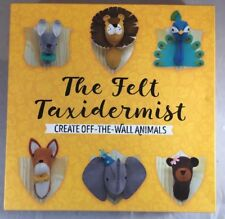 The Felt Taxidermist-Faux Taxidermy Fox and Peacock