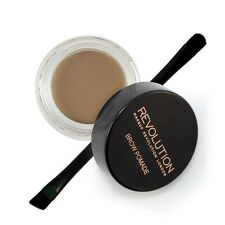 Makeup Revolution Brow Pomade Eyebrow Liner HD Brow Gel With Brush Blonde