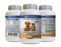 dog skin itch relief supplement - PETS HAIR AND COAT COMPLEX 1B - quercetin pets