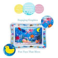 Wassermatte Wasserkissen Spielmatte Aufblasbare Früherzieh Spielzeug 60*55cm DE